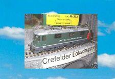HAG 273 Re 4/4II 21 MThB Mittel-Thurgau-Bahn; NEU & OVP DHL-Versand