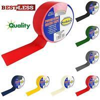 New Best Quality 50mm x 50m Roll Duck Duct Gaffer Gaffa Cloth Waterproof Tape