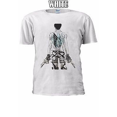Attack On Titan Wings Levi Symbol T-shirt Vest Tank Top Men Women Unisex 2499