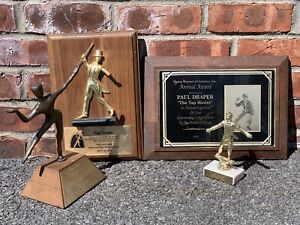 American-Tap-Dancer-Paul-Draper-Collection-Of-Trophies-And-Award-Plaques
