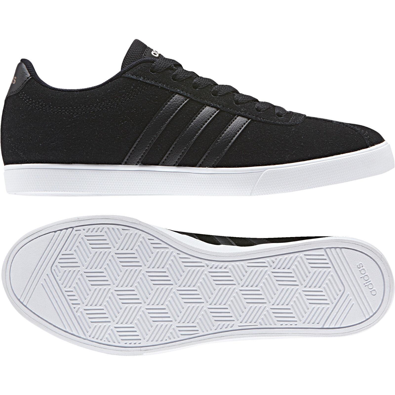 ADIDAS COURTSET W schwarz/WEISS BB9657  NEO Damen Sneaker Sportschuhe