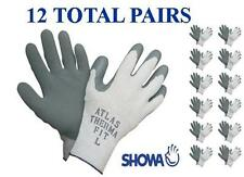 Showa 451 Atlas Therma Fit Insulated Winter Work Glove 12 Pair Choose Mdlgxl