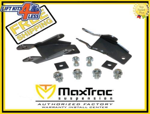 """MaxTrac 401500 4/""""-7/"""" Rear Shock Extenders Flip Kit for 07-17 Sierra 1500 2WD//4WD"""