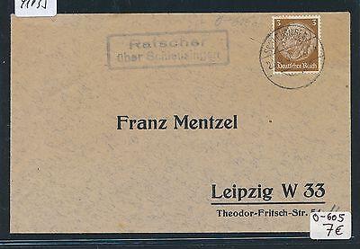 91035) DR > DDR Landpost Ra2 Ratscher über Schleusingen, DS 1938