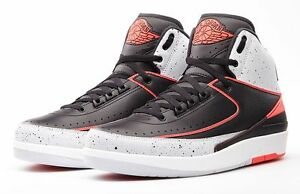 huge selection of f423f 36f52 Image is loading NIKE-AIR-JORDAN-2-II-RETRO-INFRARED-23-