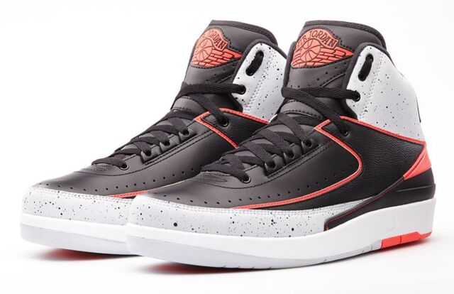 cheaper e6a55 55863 NIKE AIR JORDAN 2 II RETRO INFRARED 23 Size 10.5. 385475-023 1 3