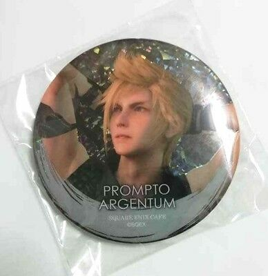 Final Fantasy XV Hologram Can Badge Button Ardyn Izunia Square Enix Cafe Game