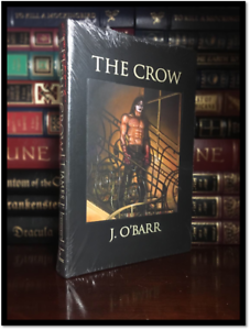 The-Crow-SIGNED-by-JAMES-O-039-BARR-New-Sealed-Easton-Press-Leather-Bound-Hardback
