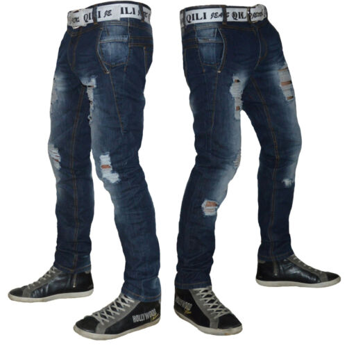 Jeans Uomo  linea slim vita bassa art 910 taglia 29 30 31 32 33 34 36 38