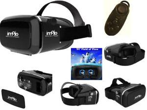 Universal-Samsung-iPhone-VR-SCATOLA-auricolare-realta-virtuale-3D-Occhiali-con-telecomando