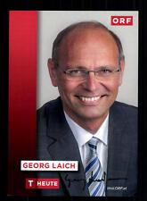 Georg Laich ORF Autogrammkarte Original Signiert # BC 71692