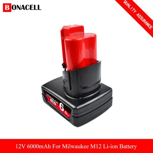 Milwaukee 48-11-2440 M12 12-Volt 4.0Ah Replacement Extended Capacity Battery