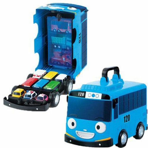Tayo The Little Bus Mini Car Carrier 12 Storage Toy Character Children Kids  Gift | EBay