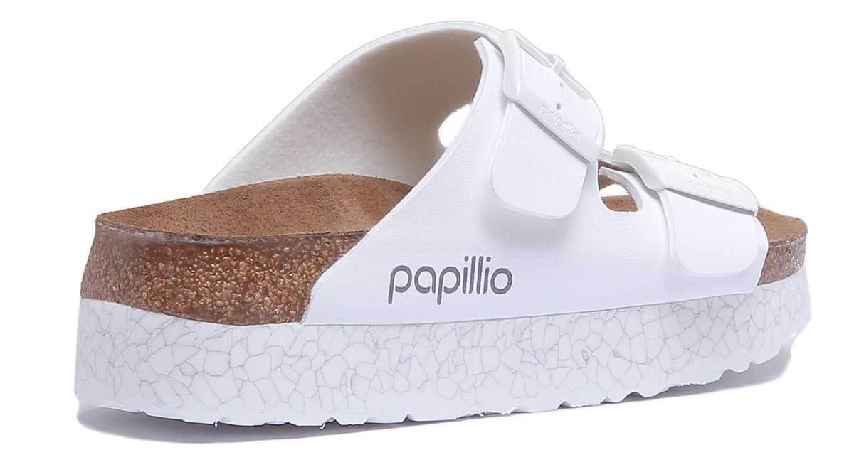 Papillio Arizona BF da donna donna donna Bianco Birko Flor Sandalo TAGLIA | Valore Formidabile  | Gentiluomo/Signora Scarpa  0143ca