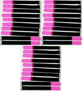 30x Câble Velcro Velcro 160 X 16 Mm Neon Pink œillet Velcro Serre-câbles Velcro Bandes-afficher Le Titre D'origine Les Catalogues Seront EnvoyéS Sur Demande