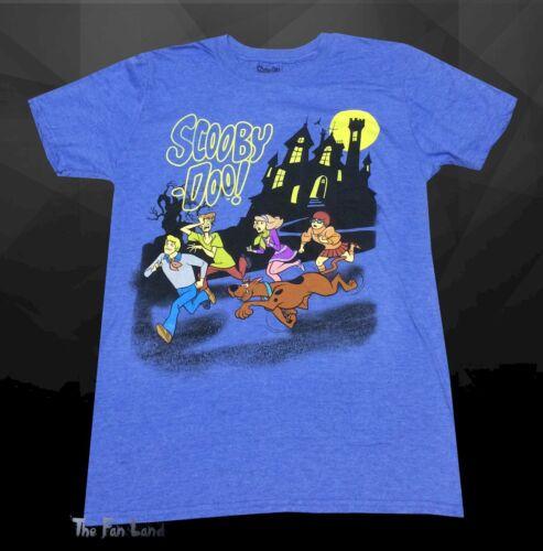 Nouveau Scooby Doo Van Cast cartoon maison hantée Vintage T-shirt Homme
