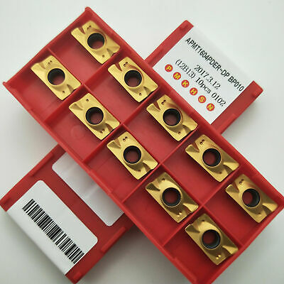 New KNUX 160405R BP010 carbide inserts CNC Roughing finishing milling inserts