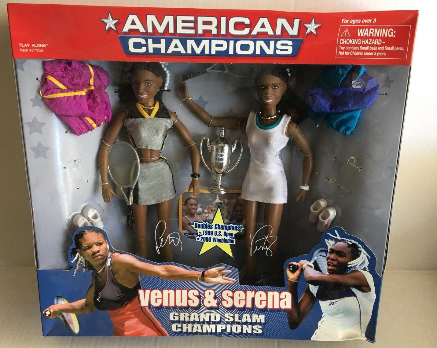 Venus And Serena Williams Figure, Rare Williams Sisters Figures