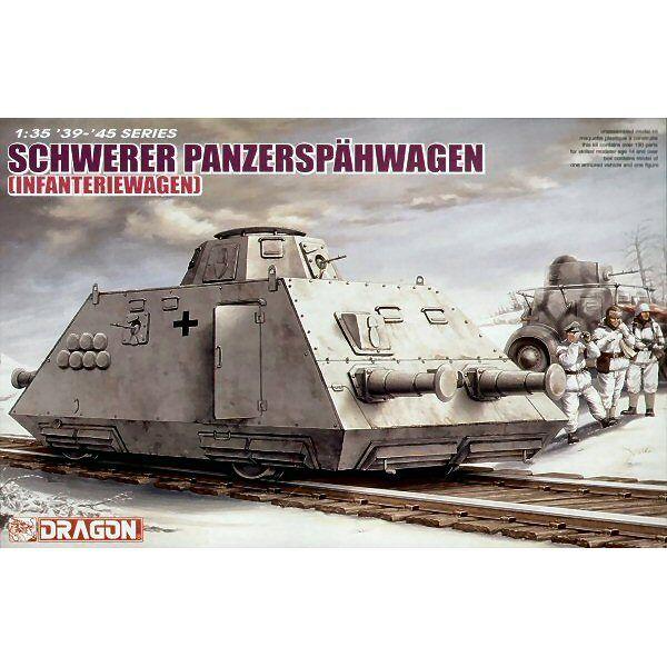 Dragon 6072 Schwerer Panzerspähwagen Infanteriewagen sSP 1 35 scale model