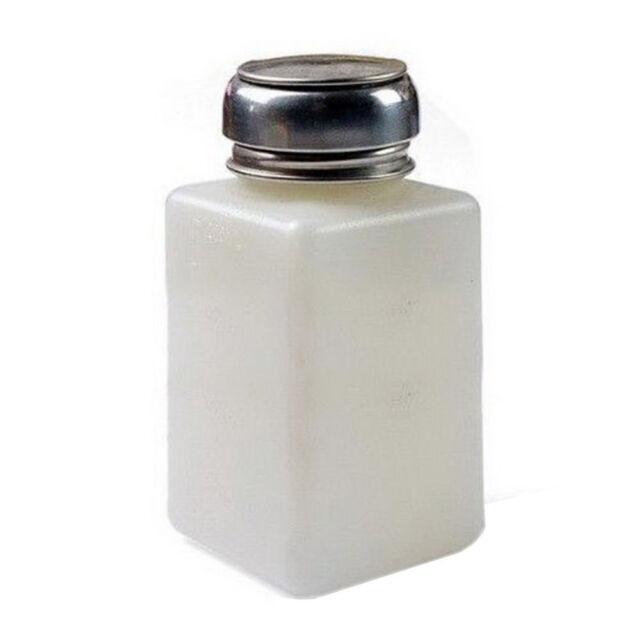 New Empty Pump DisPenser For Nail Art Polish Remover 200ML Bottle HY