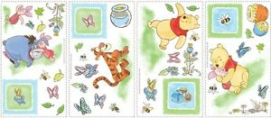 WINNIE THE POOH WALL STICKERS 49 New Eeyore Tigger Piglet Decals Nursery Decor