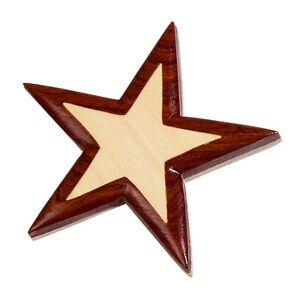 Image Is Loading Western Kitchen Decor Star Wooden Fridge Magnet