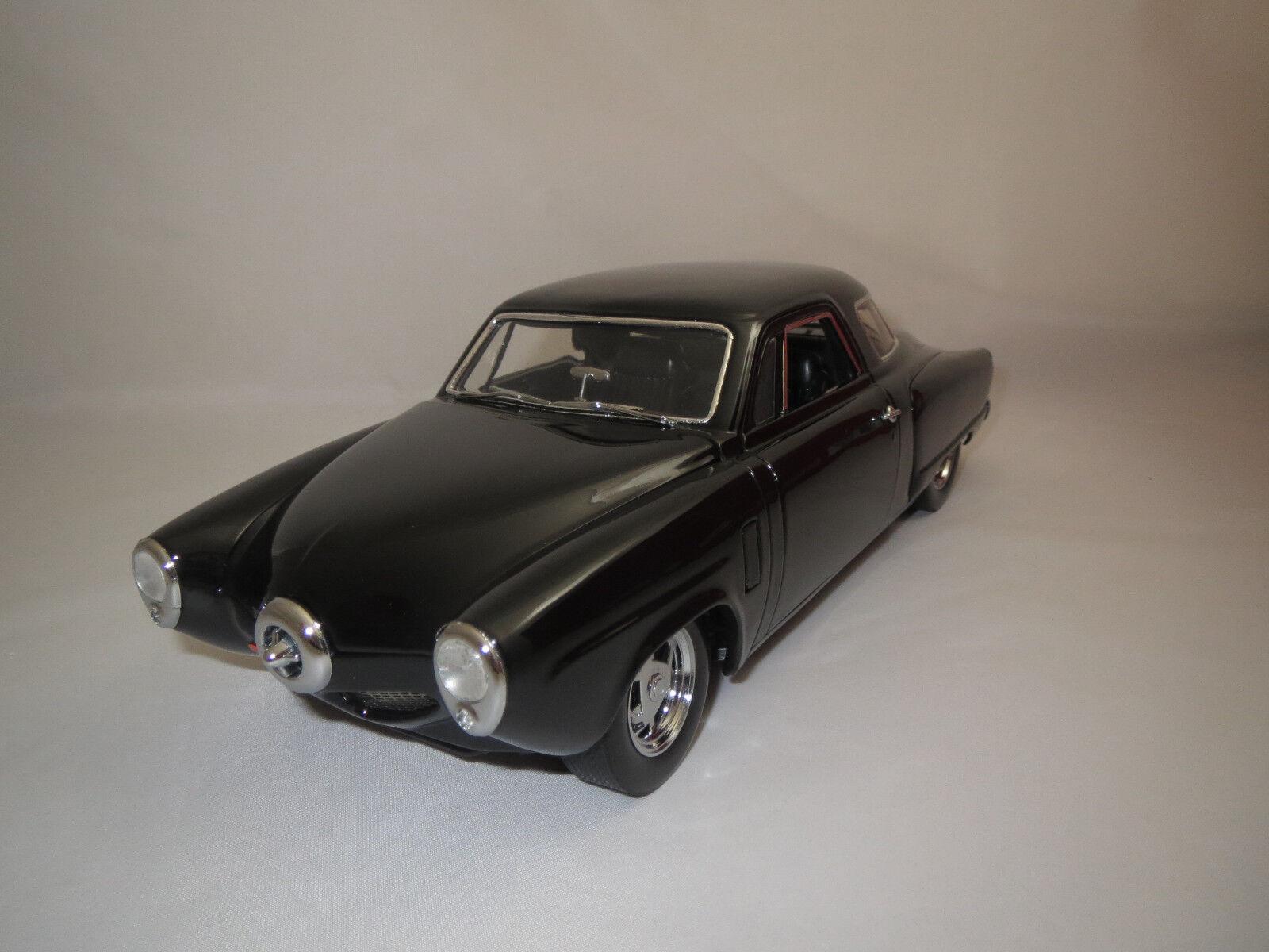 Highway 61 Studebaker Museo Nacional (negro) 1 18 sin embalaje