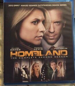 Homeland: Season 2 Blu Ray - Claire Danes - Damian Lewis ...