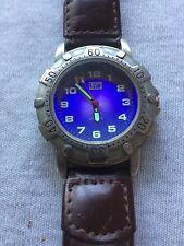 Levi's Men's Silver Tone Case Quartz Watch