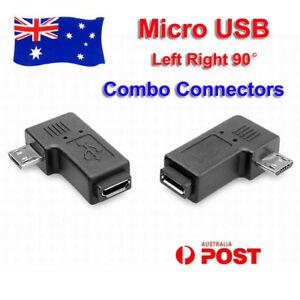 2x-Micro-USB-Male-to-Female-90-270-Angle-Plug-Converter-Data-Sync-Power-Charge