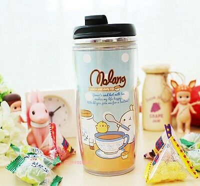 Molang Lovely Cute rabbit Bunny Stainless Tumbler(tea time)