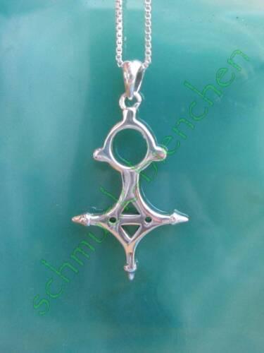 RW Anhänger Kreuz von Tahoua Tuareg Marokko Sterling Silber 925 Nachbildung