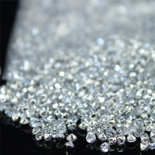 2.5mm Tiny Diamond Confetti Acrylic Crystals Table Confetti Wedding 10000pcs