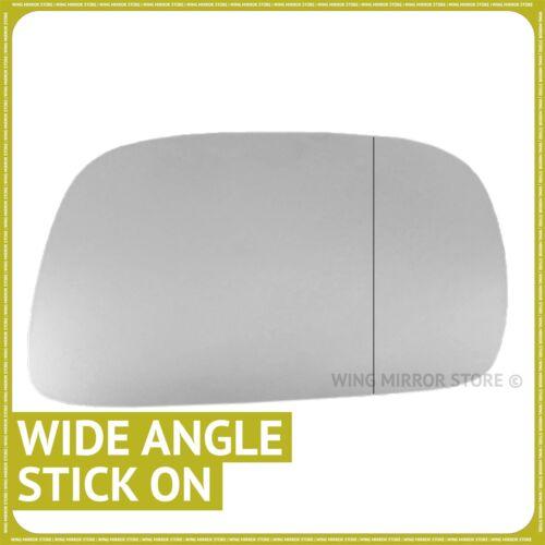 SUZUKI WAGON R 2000-2007 Droit Chauffeur Grand Angle Wing mirror glass