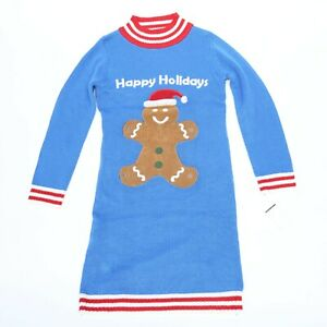 SKEDOUCHE-UGLY-CHRISTMAS-SWEATER-WOMEN-039-S-SIZE-S-GINGER-BREAD