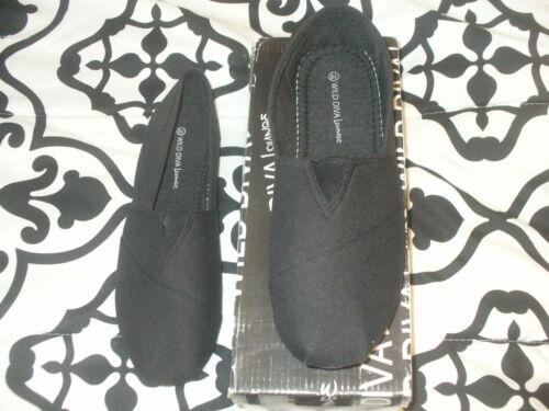 Details about  /WILD DIVA LOUNGE MAINE-01 ME BLACK WOMEN/'S CASUAL COMFORT SHOE Size 8.5 NWB