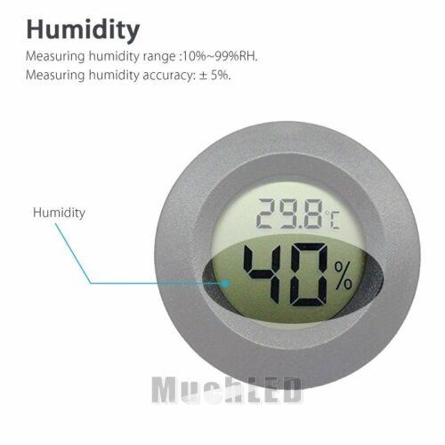 Lot Mini LCD Digital Indoor Hygrometer Thermometer Temperature Humidity Monitor