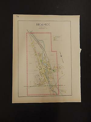Oneida County Map Ambitious New York 1907 City Of Remsen R3#36