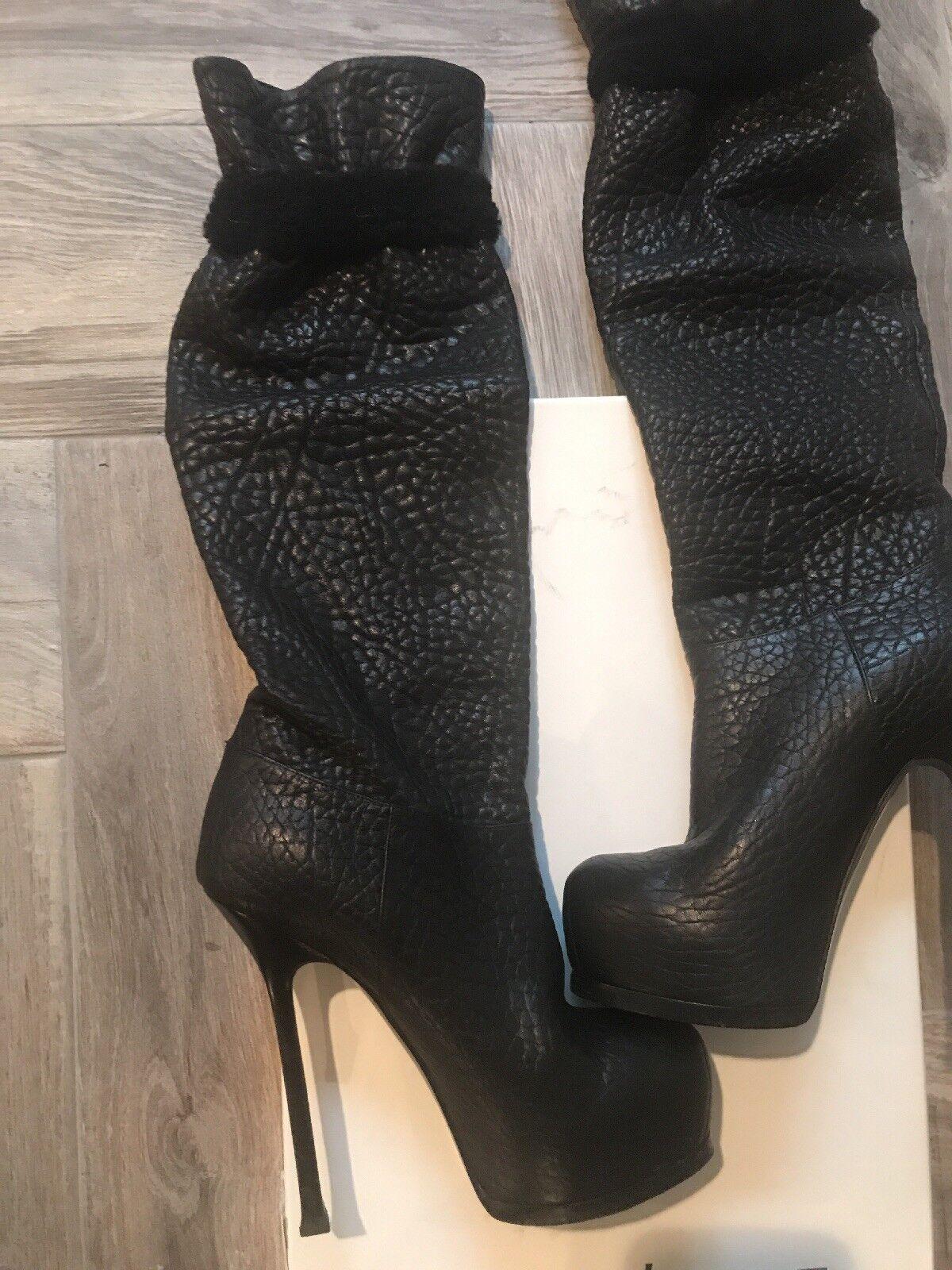 YSL damen damen damen Stiefel Größe 36.5 or US 6.5 727865