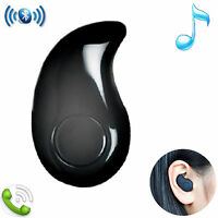 Wireless Bluetooth Headset Stereo Headphone HD Earphone for Samsung LG PS3 Black