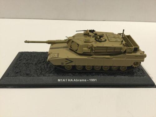 Atlas Editions//Altaya legendario tanques de 1:72 M1A1 ha Abrams 1991 Diecast Modelo