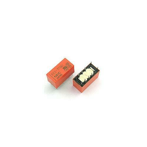 10pcs EC2-3TNU Relay 3VDC 2A 2Coil 64 Ohm THT NEC