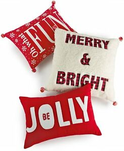 frases de cama Martha Stewart Festivo Vacaciones Frase Se Jolly Ropa De