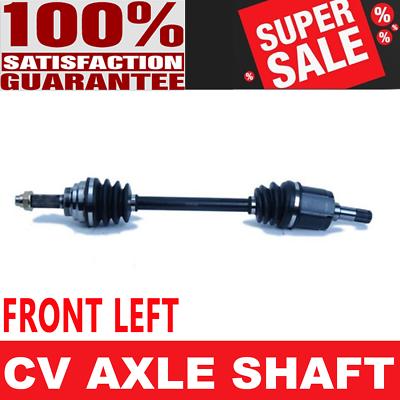 FRONT LEFT CV Axle Shaft For MERCURY CAPRI 91-94 MERCURY TRACER 87-89