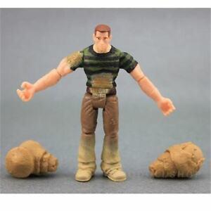 MARVEL-LEGENDS-SPIDER-MAN-SANDMAN-3-75-034-hasbro-figure-w-2-HANDS-collect-toy