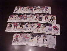 1988 Esso Hockey Card Lot with Stars (34) Wayne Gretzky Lemieux Gordie Howe