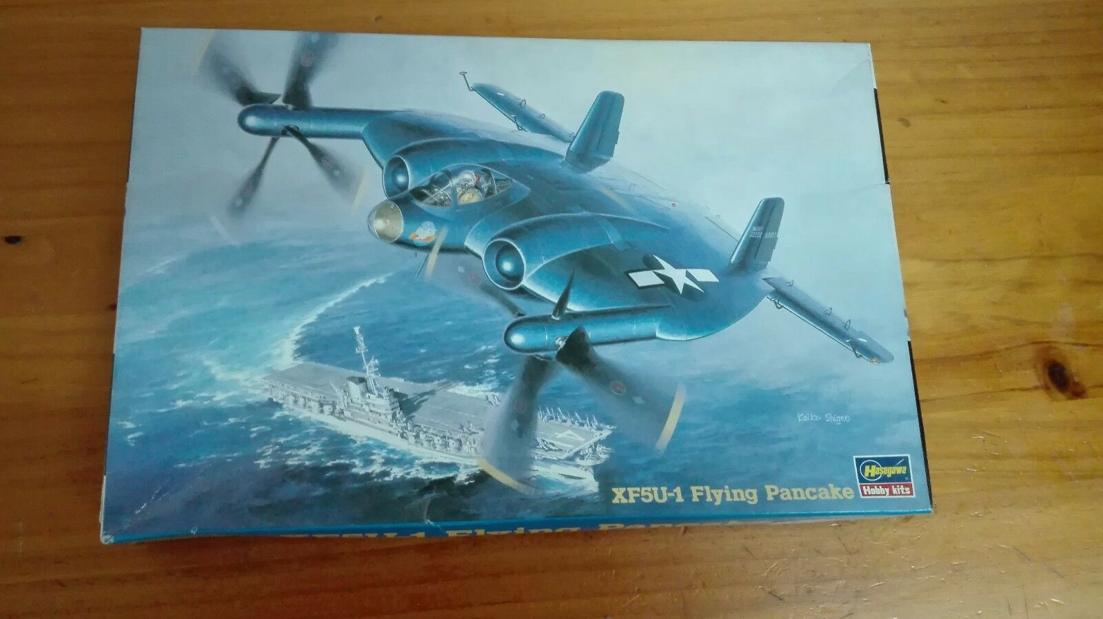 XF5U -1 FLYING PANCAKE  1 72 SCALE HASEGAWA DESCATALOGADA DISCONTINUED AND RARE