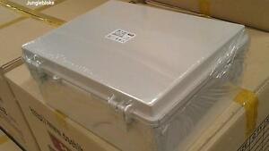 DS-EN-AG-2030-200X300X160-DSE-HIBOX-ENCLOSURE-BOX-IP66-ABS-HINGED-GREY-LID