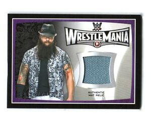WWE-Bray-Wyatt-2015-Topps-Road-To-WrestleMania-31-Event-Used-Mat-Relic-Card