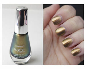 Details About Sally Hansen Lustre Shine Nail Polish Color Plume 005